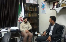 دیدار رئیس هیات استان مازندران با مسئول سازمان بسیج ورزشکاران سپاه کربلا