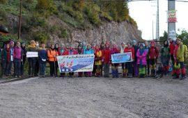 برگزاری همایش صعود ویژه بانوان غرب استان مازندران به قله گردکوه به مناسبت گرامیداشت هفته تربیت بدنی و ورزشی ، به میزبانی هیات کوهنوردی و صعودهای ورزشی شهرستان تنکابن