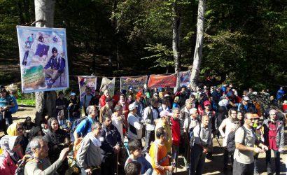 برگزاری همایش کوهپیمایی همگانی کوهنوردان شرق استان مازندران به مناسبت گرامیداشت هفته تربیت بدنی و ورزشی ، به میزبانی هیات کوهنوردی و صعودهای ورزشی شهرستان گلوگاه