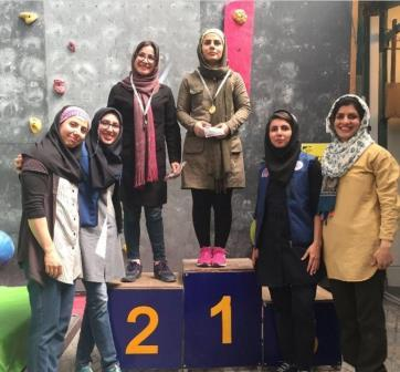 کسب مقام دومی در ششمین دوره مسابقات سنگنوردی معلولین قهرمانی کشور