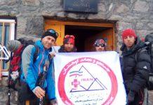 گزارش ستاد اطلاع رسانی و پیشگیر ی از حوادث کوهستان مازندران ، قله دماوند مورخ ۱۴ تا ۱۷ خرداد ماه ۹۸