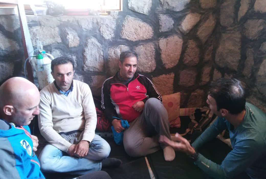 بازدید مدیر کل امور شهری استانداری مازندران از بارگاه سوم قله دماوند