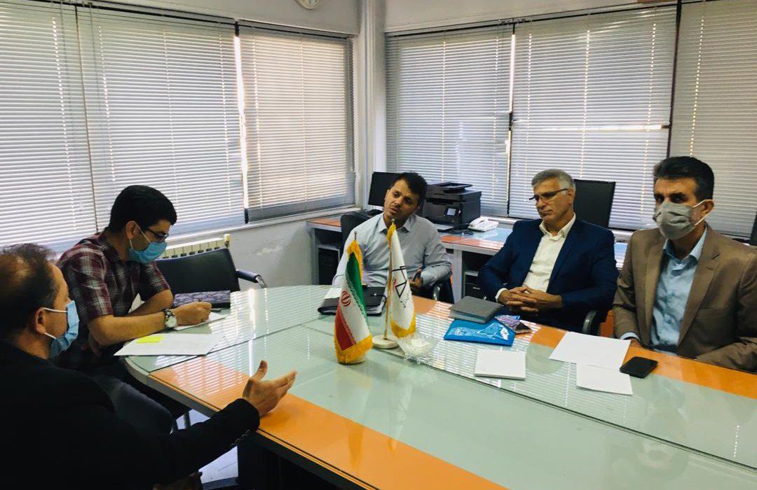 جلسه حسن رنگرز مدیر کل ورزش و جوانان مازندران با رضا زارعی رئیس فدراسیون کوهنوردی و صعودهای ورزشی ج.ا.ا