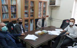جلسه هم اندیشی با هیات شهرستان نور